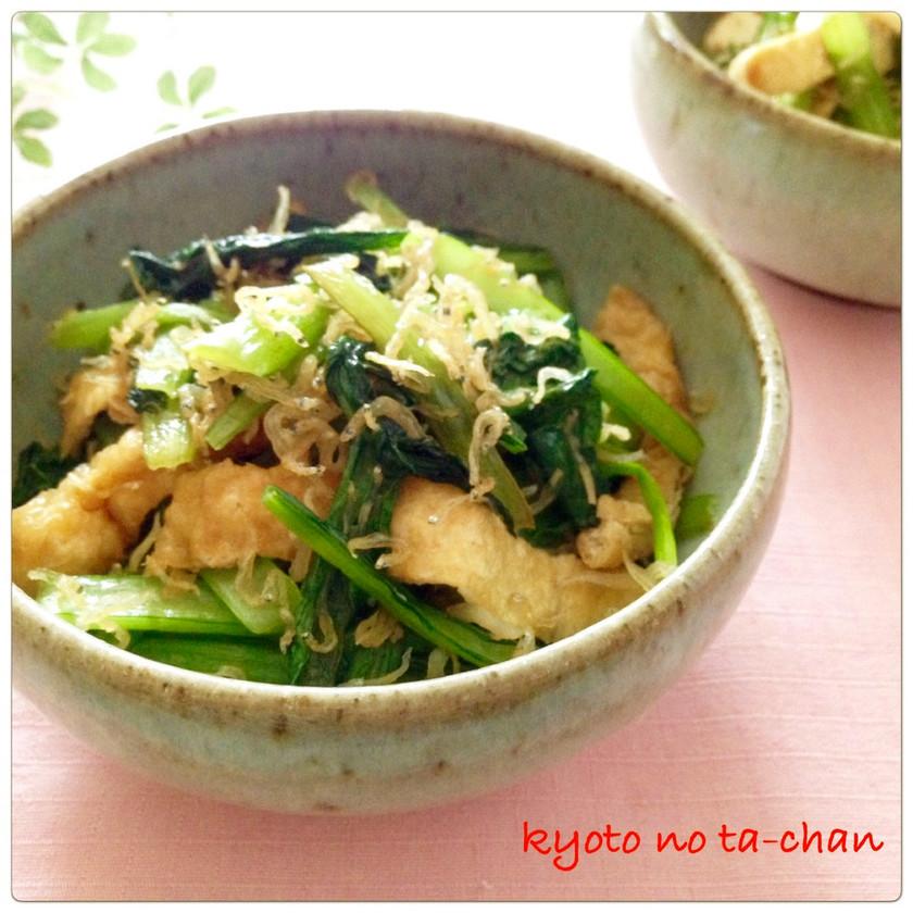 ✿お弁当にも 小松菜とじゃこ炒め✿