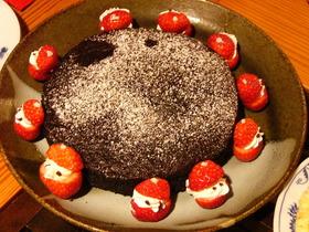 ヘルシーチョコレートケーキ