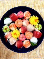 手まり寿司*ひな祭りの写真