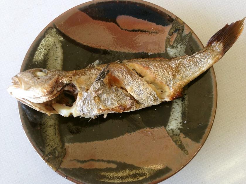 シログチ(イシモチ)の塩焼き