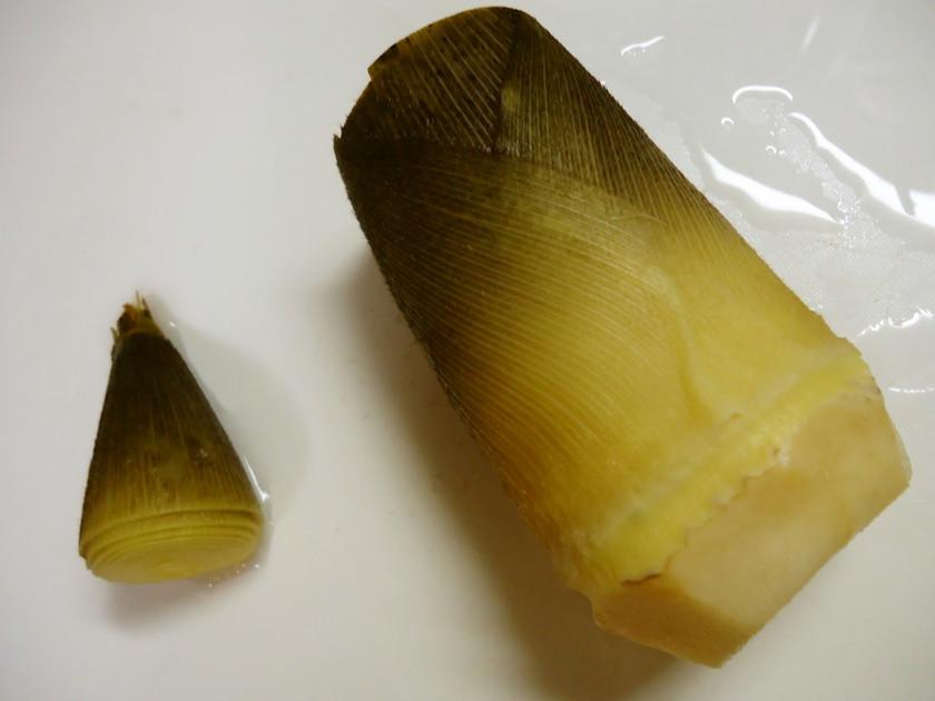 簡単な筍(タケノコ)のゆで方