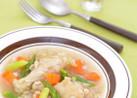 妊娠、授乳に!アスパラと押し麦のスープ