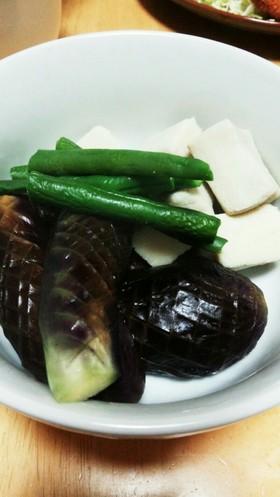 ☆高野豆腐と茄子の炊いたん☆
