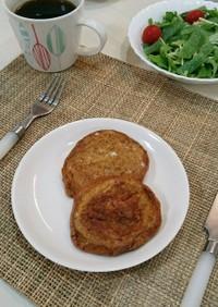 黒糖ロールパンでフレンチトースト