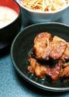 豚の黒酢角煮⭐こってりだけどあっさり