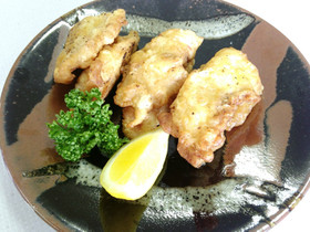 チヌの天ぷら