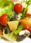 イワシと筍の山椒炒め