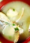 簡単アサリのお味噌汁