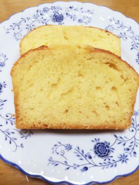 ブランデーパウンドケーキ