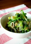 きゅうりともやしの中華風サラダ(酢の物)