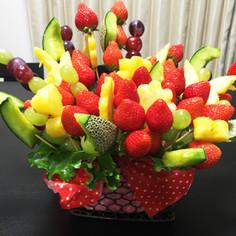 誕生日やパーティー!お花のフルーツブーケ