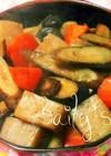 ゴボウ人参蒟蒻の煮物