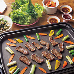 韓国風焼き肉とおこげビビンバ