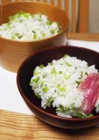 ごはんもの:山菜・こしあぶらの混ぜごはん