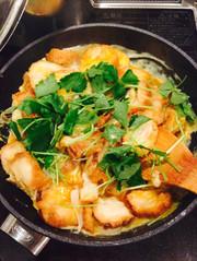 まるでカツ丼⁈仙台麩の卵とじ丼☆の写真