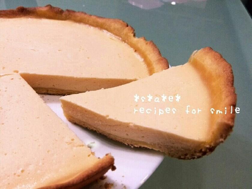 簡単安価♪フライパンでタルトチーズケーキ