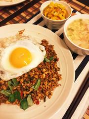 豆腐で肉なしヘルシー★ガパオライスの写真