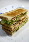 納豆サンドイッチ(和風イタリアン)