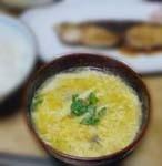 お味噌汁:姫竹の子のかきたま汁・郷土料理