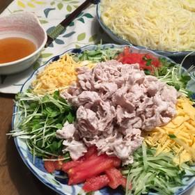 冷しゃぶ素麺