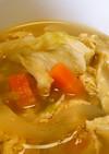 レタスの溶き卵中華スープ