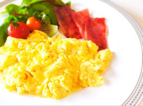 ホテル朝食✿超ふわふわスクランブルエッグ