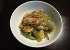 ほうれん草と高野豆腐のおひたし