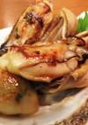 牡蠣のバター醤油炒め
