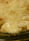 ノンバター豆腐クリーム♪ポテト鮭グラタン