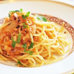 スパゲティー 魚介のラグー