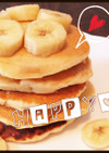 簡単♪離乳食♪パンケーキ♪誕生日にも