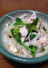 新玉ねぎ・菜花・ツナで春の簡単サラダ☆