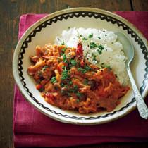 豚(トン)トマ煮ライス