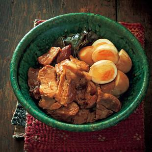 黒糖しょうゆ煮豚