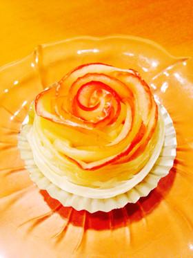 父の日、母の日に バラのアップルパイ