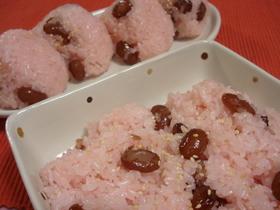 食べてみて♪♪北海道甘納豆赤飯