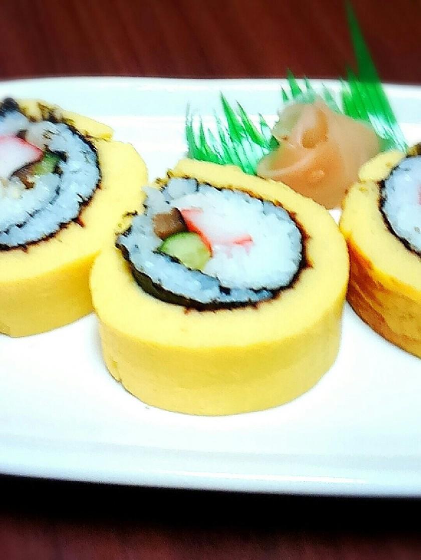 ♪簡単♪伊達巻き寿司