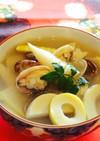 筍とアサリのお吸い物&味噌汁