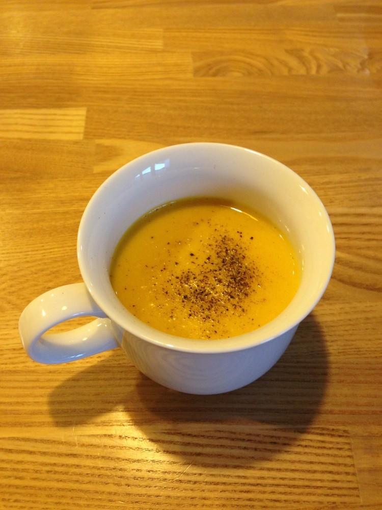 FPで簡単かぼちゃと玉ねぎの超濃厚スープ