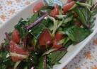 生ほうれん草サラダ