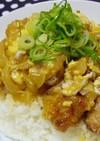 唐揚げリメイク♡親子丼とコラボ丼