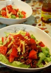 ●沖縄料理●あるもので簡単タコライスの写真