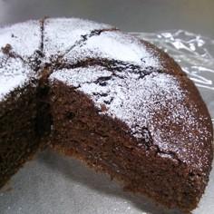 リッチにダブルでチョコケーキ(o^−^o