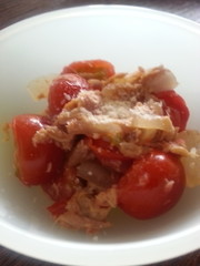 簡単幼児食!トマトツナ炒めの写真