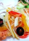 鮭ソテーと新玉ねぎの 粒マスタードマリネ