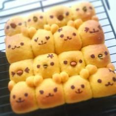 かぼちゃちぎりパン(乳製品不使用)