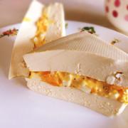 ヘルシー簡単★お豆腐de卵サンド?!の写真