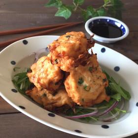 玉ねぎ大量*鶏むね肉と豆腐のふわふわ揚げ