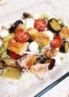 チキンの野菜フルーツ盛り合わせ