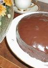 ココアでチョコケーキ・・・炊飯器でね